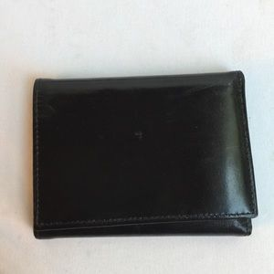 BY BOSCA HAND STAINED HIDE USA MADE MENS WALLET
